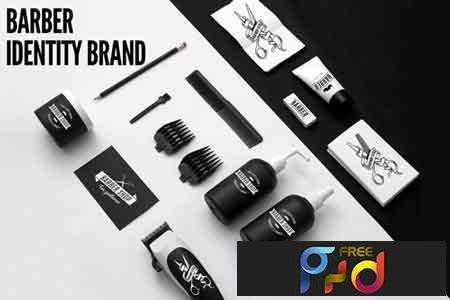 1707125 Barber Shop Identity Brand 1