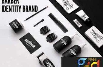 1707125 Barber Shop Identity Brand 3