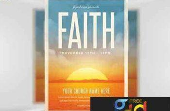 1707131 Faith Church Event Flyer 7
