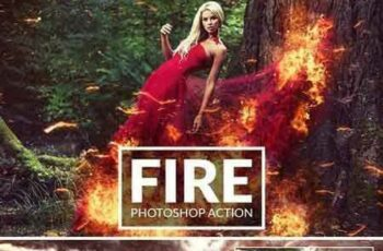1707156 Fire Photoshop Action 1993790 8