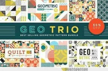1707166 Geo Trio Pattern Bundle 1831570 2