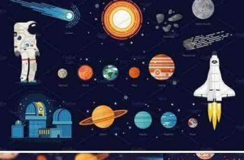 1707167 Space Exploration Set + Pattern 1925041 3