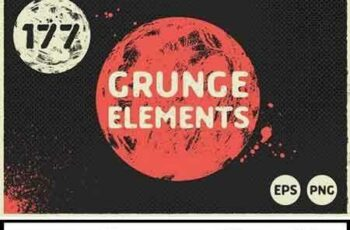 1707168 177 Grunge Elements 1831218 2