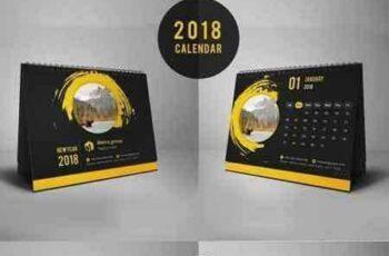1707190 Desk Calendar Template 2 4