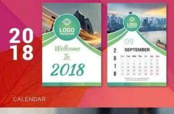 1707192 2018 Desk Calendar 7
