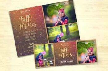 1707196 Fall Mini Session Photo Template v.2 1288952 5