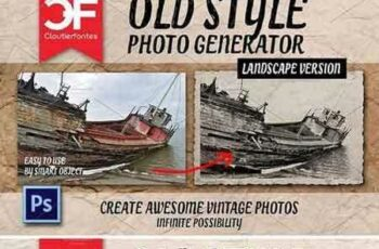 1707197 Vintage photo generator (BUNDLE) 1835809 4