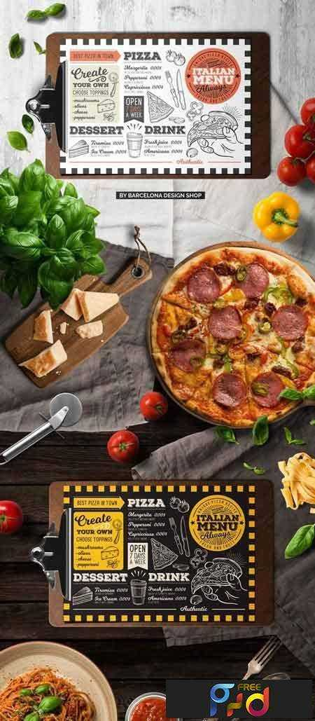 1707198 Pizza Food Menu Template 2032101  Free Food Menu Template