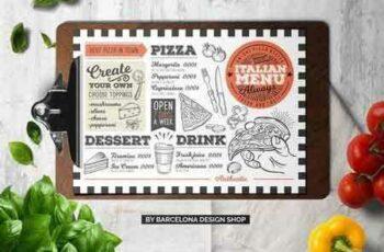 1707198 Pizza Food Menu Template 2032101 6