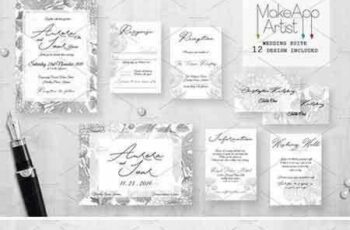 1707224 Wedding Invitation Suite - Aurora 1956616