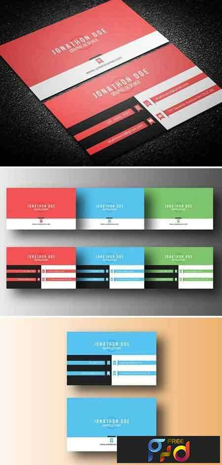 1707226 Simple Business Card 1460668 1