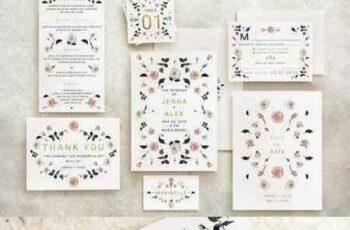 1707234 Rose Gold Wedding Invitation 1347435 4