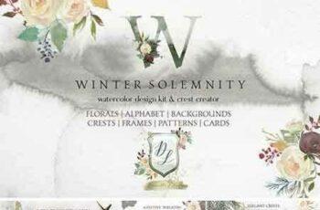 1707255 Winter Solemnity Floral Design Kit 1940998 4