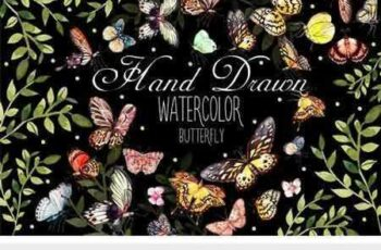 1707259 Beautiful Watercolor Butterflies 1952928 7