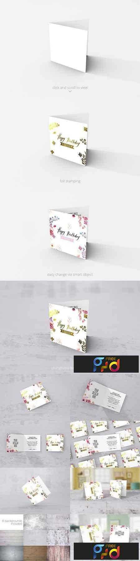 1707266 Square Greeting Card Mockups 1359665 1