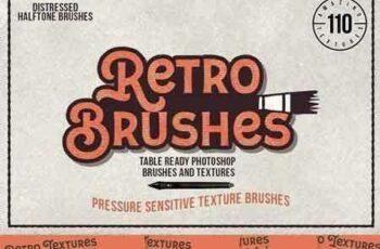 1707268 Retro Brushes Halftone Textures 1355356 7