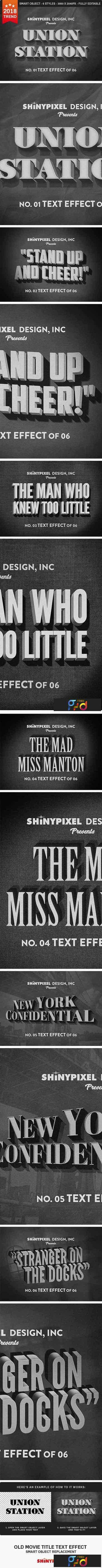1707271 Old Movie Title - Text Effect 20961399 1