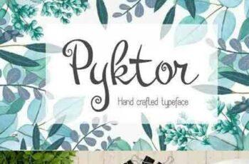 1707281 Pyktor script font 1431825 8