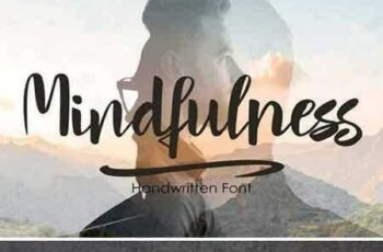 1707285 Mindfulness - handwritten font 2000368 3