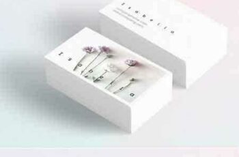 1707289 Isabella-floral business card 1429319 4