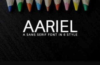 1707296 Aariel Sans Serif Typeface 1435026 6