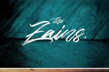 1708001 The Zains Typeface