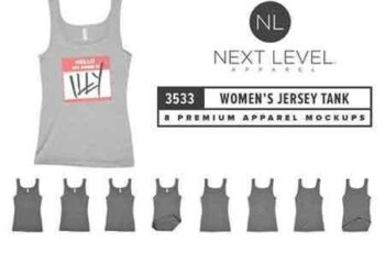 1708009 Next Level 3533 Women's Jersey Tank 1956336 1