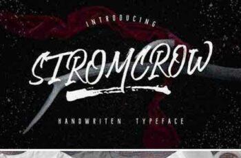 1708023 Stromcrow Typeface 2043087 3