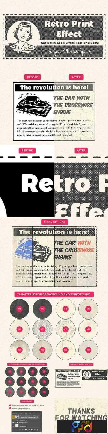 1708026 Retro Print Effect 1457843 1