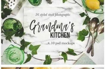 1708032 Grandma's Kitchen Photography Bundle 1420243 3