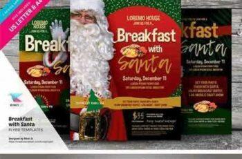 1708040 Breakfast With Santa Flyer Templates 2038446 5