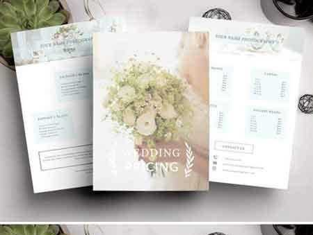 1708048 Wedding Pricing Guide Photography 2025178 - FreePSDvn