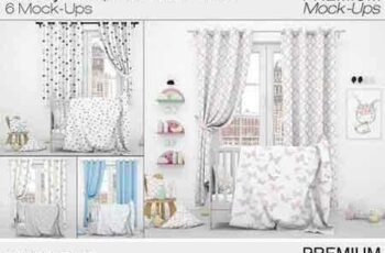 1708053 Nursery - Bed, Curtains & Pillows 2024924 2