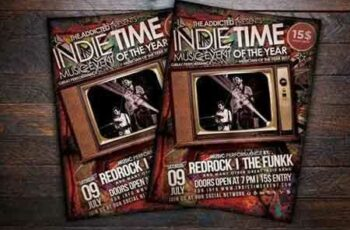 1708059 Indie Time Music Flyer 787462 7