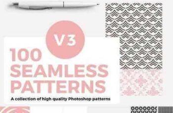 1708070 100 Seamless Photoshop Patterns - V3 1432213 5