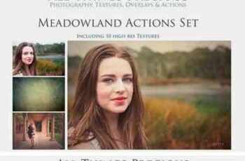 1708071 MEADOWLAND 45 Photoshop Actions 2022371 2