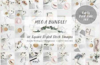 1708074 Mega Bundle- 60 Social Media images 1383535 4