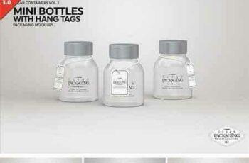 1708077 Clear Mini Bottle Set Mock Up 2022750 10