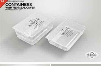1708078 Clear Film Seal Container MockUp 2022766 8