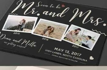 1708087 Save the Date Post Card 1406195