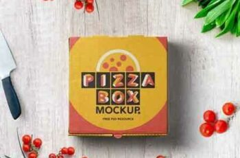 1708112 Psd Pizza Box Mockup Packaging 2