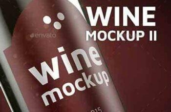 1708116 Wine Mock-up II 20992937