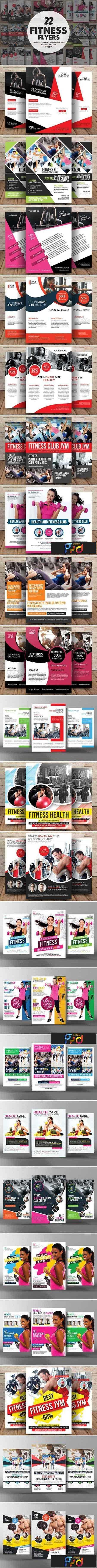 1708118 22 Fitness Flyers Bundle 1833507 1