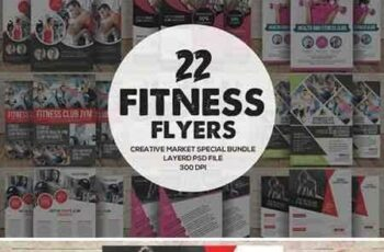 1708118 22 Fitness Flyers Bundle 1833507 5
