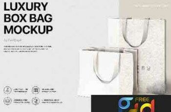 1708125 Luxury Box Bag Mockup 4