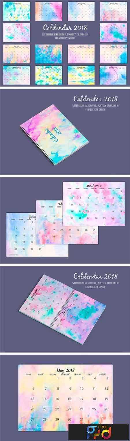 1708143 2018 Calendar Monthly Watercolor 2038803 1