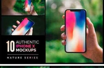 1708158 10 Authentic iPhone X Mockups 2038701 4