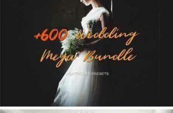 1708167 600+ Wedding Filters - Mega Bundle 1972118 2