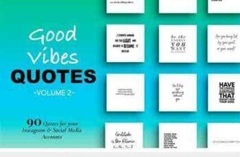 1708195 Good Vibes Social Media Quotes Vol 2 2054943