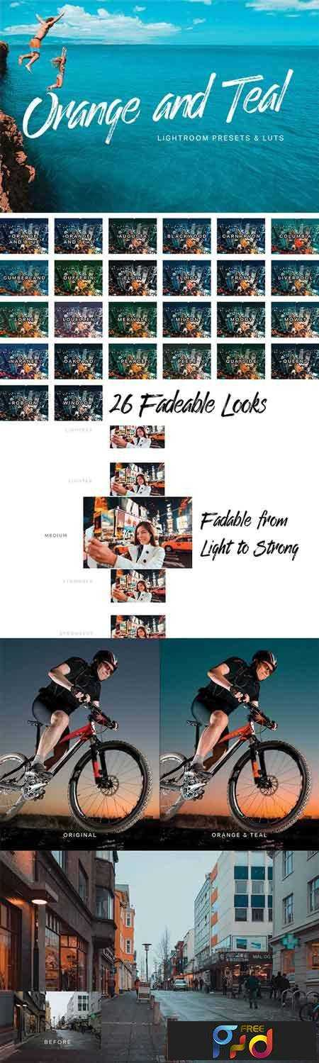 1708199 Orange Teal Lightroom Presets and LUTs 21091784